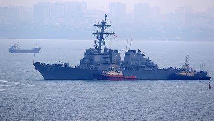 Американський есмінець Carney зайшов в порт Одеси - фото 1