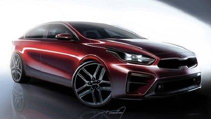 Kia розсекретила дизайн нового седана Cerato - фото 1