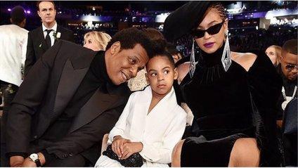 Beyoncе і Jay-Z з дочкою Блю Айві - фото 1