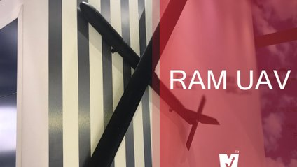 """RAM UAV - """"літаюча ракета"""", що важить 8 кілограмів - фото 1"""