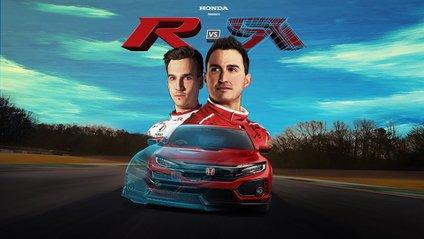 Honda влаштувала гонку між віртуальним і реальним автомобілем - фото 1