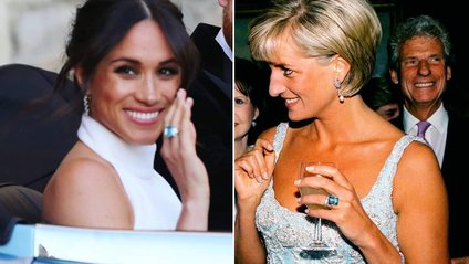 Весільний образ Меган Маркл порівняли з вбранням Кейт Міддлтон і принцеси Діани - фото 1