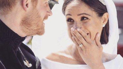 Королівське весілля: Меган Маркл упіймали на лайці - фото 1