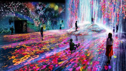 Музей цифрового мистецтва у Токіо: неймовірні кадри - фото 1