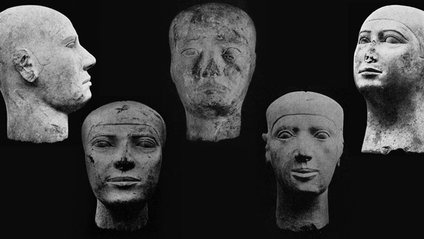 Скульптурні голови мають безліч загальних рис - фото 1