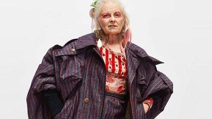 Вів'єн Вествуд знялася для трьох обкладинок журналу Dazed - фото 1