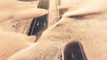 Як пустеля захоплює Дубай та Абу-Дабі: ефектні фото - фото 1
