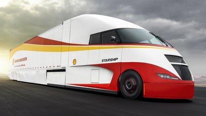 Аеродинамічний тягач Shell виявився вдвічі економніший за звичайні вантажівки - фото 1
