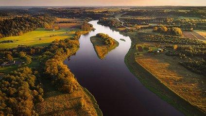 Литва з висоти пташиного польоту: чарівні фото - фото 1