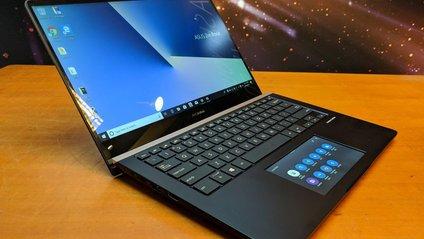 Asus показала ноутбук з тачскріном замість тачпада - фото 1