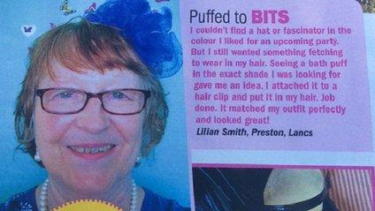 Британка оділа замість капелюха мочалку і стала популярною - фото 1