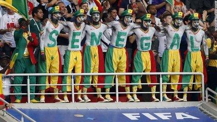 Вболівальники Сенегалу на ЧС 2018 - фото 1