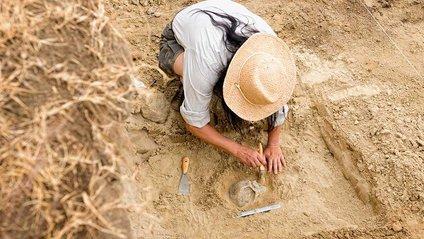 """У Великобританії археологи відкопали """"руку бога"""" - фото 1"""