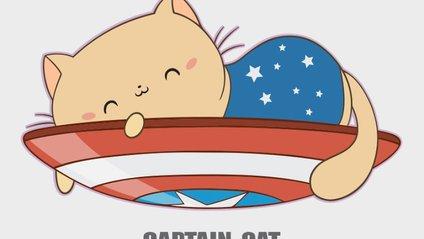 Якби улюблені герої Marvel були котами: чарівні ілюстрації - фото 1