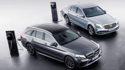 Mercedes-Benz планує запустити гібридні авто нового покоління - фото 1