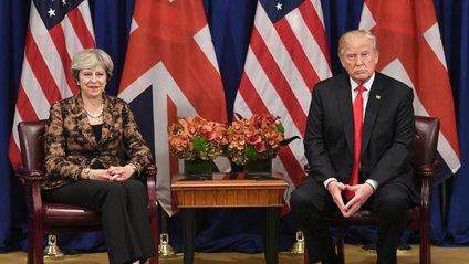 Трамп відмовився від зустрічі з Мей - фото 1