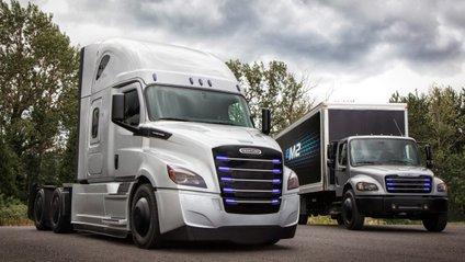 Компанія Daimler показала конкурента вантажівці Tesla Semi - фото 1