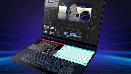 ASUS показала унікальний ноутбук Project Precog з двома дисплеями - фото 1