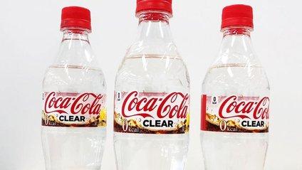 В Японії випустили прозору кока-колу - фото 1