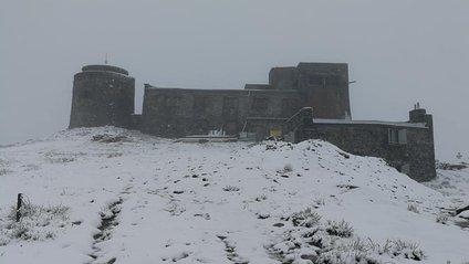 У Карпатах випав літній сніг: фотофакт - фото 1