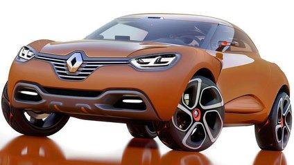 Опубліковані фото з тестів нового крос-купе Renault - фото 1