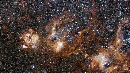 Можна дивитись вічно: космічна туманність в ефектному відео - фото 1