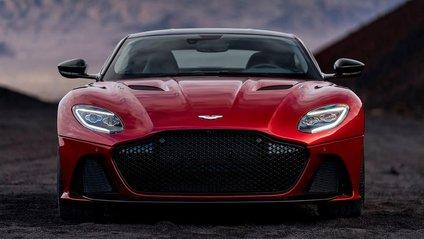 Aston Martin показав новий потужний спорткар DBS Superleggera - фото 1