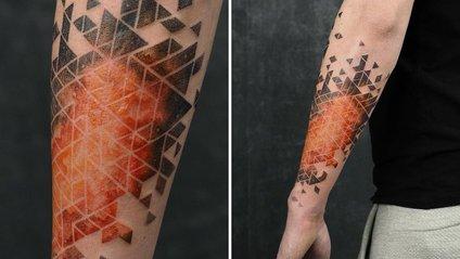 Дивовижні градієнти на шкірі від польського тату-майстра - фото 1