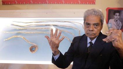 Загальна довжина нігтів становила 909 сантиметрів - фото 1