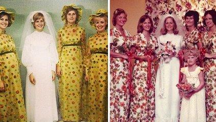 Ці сукні подруг нареченої колись були у тренді - фото 1