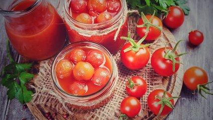 Консервовані помідори – швидкі і прості рецепти - фото 1