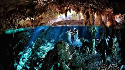 Фотограф з Мексики влаштовує підводні фотосесії закоханих - фото 1
