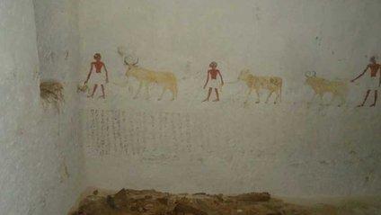 Фрески у єгипетській гробниці - фото 1
