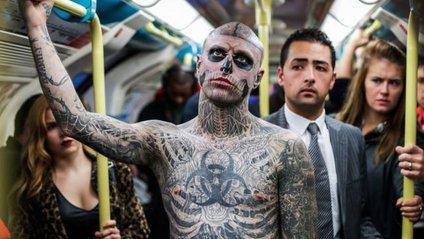 Zombie Boy покрив усе тіло татуюваннями - фото 1