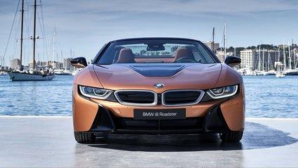 BMW i8 Roadster - фото 1