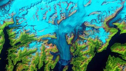 Знімок льодовика на Алясці - фото 1