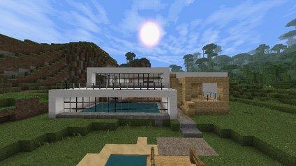 Архітектор створив будинок у Minecraft - фото 1