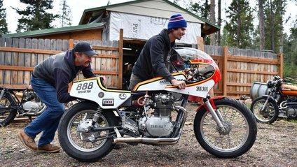 Ця Yamaha їздить на горілці - фото 1