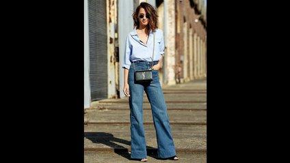 У спекотну погоду можна надіти укорочені джинси - фото 1