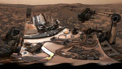 Як виглядають наслідки пилової бурі на Марсі - фото 1