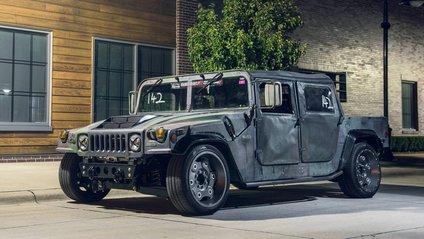 Доопрацьований Hummer H1 - фото 1
