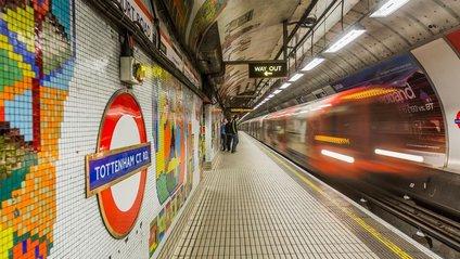 Складена карта станцій-привидів метро Лондона - фото 1