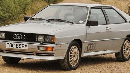 Audi Quattro 1980 року - фото 1