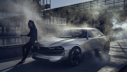 Peugeot e-Legend показали на фото - фото 1