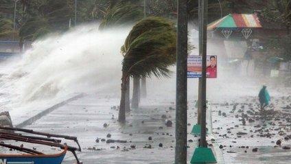 Тайфун Мангхут - фото 1