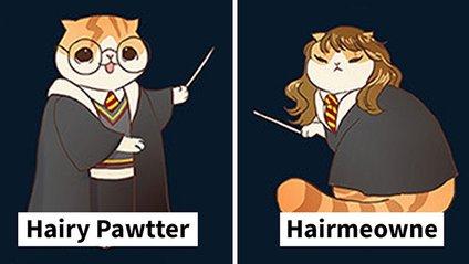 Відомі персонажі перетворились у кошенят - фото 1