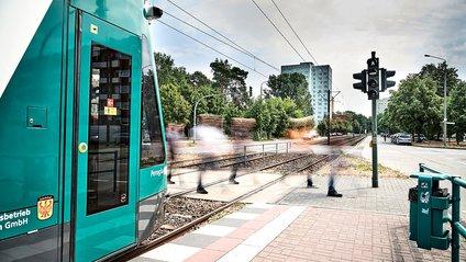 Безпілотний трамвай пройшов перші випробування - фото 1