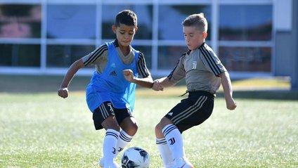 Роналду-молодший оформив у матчі дубль - фото 1