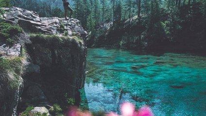 Озеро Лаго Адзурро в Альпах майже зникло - фото 1