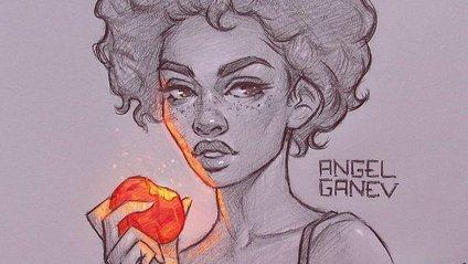 Сяючі ілюстрації олівцем - фото 1